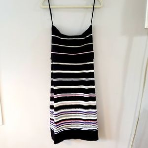 WHBM Striped Skirt Size Medium